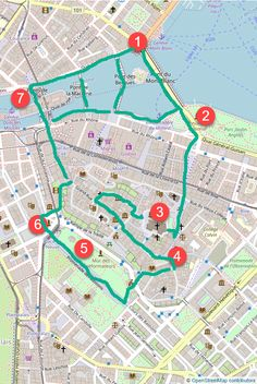 Free walking tour map of old town Geneva, Switzerland including must-see places and best walking route to take. Walking in Geneva is a beautiful attraction in itself. Geneva Old Town, Walking Map, Walking Tour, Map Of Switzerland, Lyon, Permanent Vacation, Tourist Map, Eurotrip, Geneva