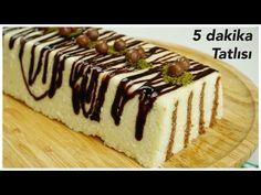 5 dakika tatlısı / çok az malzeme , çok çabuk ve enfes / sütlü tatlılar / Figen Ararat - YouTube 5 Minute Desserts, Easy Delicious Recipes, Food And Drink, Easy Meals, Cooking Recipes, Pudding, Make It Yourself, Cake, Ethnic Recipes