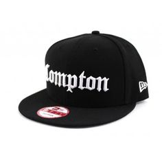 Already a classic in its own right is this 'Compton' New Era Snapback hat in the old english font. We're seeing a resurgence due to the NWA movie (Straight Outta Compton) with more requests. This week we bring it back in Compton snapback cap form with a Gray under brim.