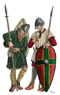 Norman Arriere Ban Thorsten Piepenbrink www. Celtic Clothing, Roman Britain, 11th Century, Anglo Saxon, Dark Ages, Ancient History, Mythology, Medieval, Castle Ruins