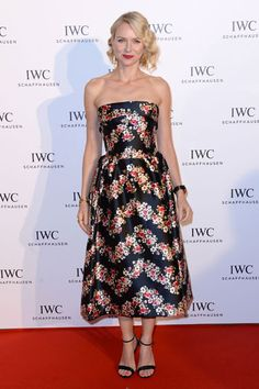 For the Love of Cinema Event - Naomi Watts In Dolce & Gabbana