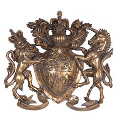 Bronzed Heraldic Coat Of Arms Wall Plaque Http Www La Maison