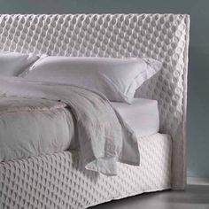 #Great #design is eliminating all unnecessary #details - Cit. Mihn D. Tran #amazing #suzzy #bed #dorelan by #enricocesana #interiorstyle #geometric #decor #follow #total #white #bedinitaly #minimalistic #cute #bedroom #quotes #my #sleep #lessismore #word #photooftheday #lifestyle #interiordesign #emozionidorelan