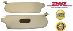 Volkswagen VW Karmann Ghia Sun Visors Cream Leatherette Free DHL Shipping Delivery:x2 Sun Visors / High Quality Leatherette / Cream Compatibility:Volkswagen Karmann Ghia Important Notice:Please make sure of the fitment before your purchase. Handling time:1 business day Estimated delivery time for US / EU / Asia:2-4 business days Important notice:Please do not forget to write your phone number in your address details for a quick delivery.DHL requires delivery only to addressee with…