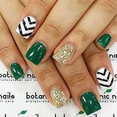 St. Patrick's Day Nails - 66 Best St. Patrick's Day Nail Art - Nail Art HQ