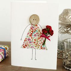 Make a cute Mother's Day card :: Mother's Day 2014 craft ideas