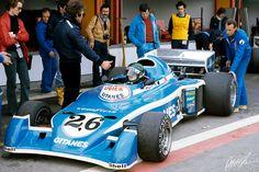 Laffite 1976 Spain Ligier JS5