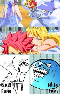 If Lisanna wouldn't have popped up Nastu would've went for Lucy, I'm sure of it.