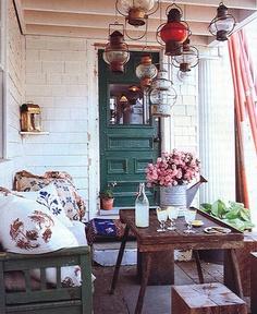 pretty porch.