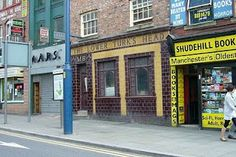 Pubs of Manchester: Lower Turk's Head, Shudehill. That bookstore too.