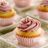 Raspberry Almond Pound Cake Cupcakes from Martha White®