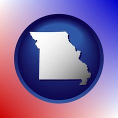 State of Missouri map icon.