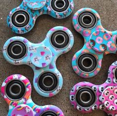 Cats, donuts, unicorns, pandas and more! Fidget spinners in hundreds of patterns and designs. Spinner Squad spinners are voted #1 for fastest and longest spin.