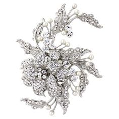 Trailing Petals Headpiece | Wedding Hair Accessories | Glitzy Secrets
