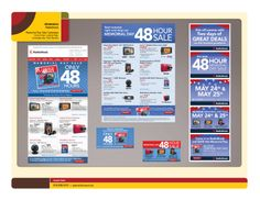 RadioShack 48 Hour Memorial Day Sale eCommerce Campaign