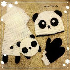 Ravelry: banansf's Panda scarf