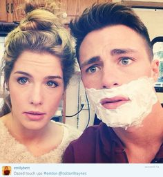 #Arrow Emily & Colton