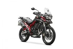 I want one of these when they get to the U.S. Triumph Tiger 800 XC SE motorcycle