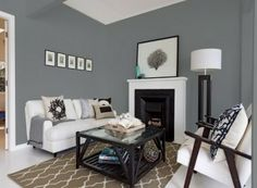 Pastel Walls in the Living Room Wall Colors — Deco Home Decor Grey Walls Living Room, Living Room Color Schemes, Paint Colors For Living Room, My Living Room, Living Room Decor, Gray Walls, Small Living, Color Walls, Paint Walls