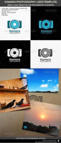 Kamara Photography Logo Template