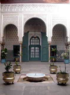 Makama Law Court Courtyard Morrocan Architecture, Architecture Wallpaper, Islamic Architecture, Art And Architecture, Architecture Details, Moroccan Design, Moroccan Decor, Moroccan Style, Old House Design