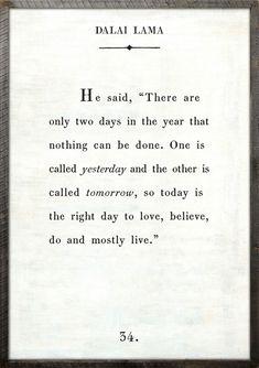 "24"" X 36"" White Dalai Lama Book Collection Print by Sugarboo Designs $400.00"