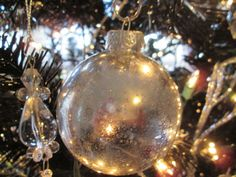 How To Make Mercury Glass Ornaments On A Dime!