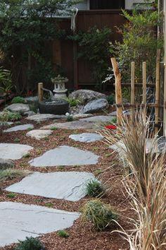 Pl nitude et zen dans votre jardin japonais couvre sol pinterest gravier zen et cercles - Couvre sol jardin japonais ...
