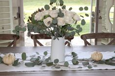 Decorating for Fall with Eucalyptus - Happy Haute Home