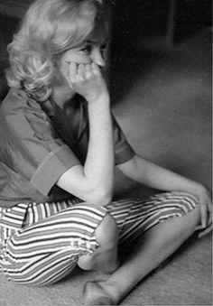 Marilyn. Photo by Milton Greene, 1953.