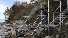 metal craft docks - YouTube