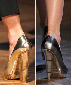 Yves Saint Laurent Fall 2012 Shoes
