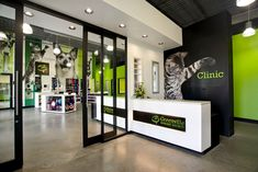 """""""The Greenville Humane Society engaged our design team for the renovation of an existing SF warehouse to house an animal adoption center and clinic. Dog Boarding Kennels, Pet Boarding, Dog Grooming Shop, Dog Grooming Salons, Pet Adoption Center, Animal Adoption, Cabinet Medical, Dog Spa, Shelter Design"""