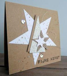 KISS cards for X-mas! Part 5.   BloGbloM   Bloglovin' Homemade Christmas Cards, Stampin Up Christmas, Christmas Greeting Cards, Homemade Cards, Handmade Christmas, Holiday Cards, Christmas Crafts, Stampin Up Weihnachten, Star Cards