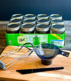 These kosher dill pickles are so delicious and a perfect canning recipe for beginners. Can your own homemade dill pickles with garden fresh ingredients! Easy Canning, Canning Jars, Canning Recipes, Kosher Dill Pickles, Canning Pickles, Kerr Jars, Canning Process, Yellow Mustard Seeds, Refrigerator Pickles