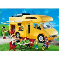 Amazon.com: Playmobil Family Camper by Playmobil: Toys & Games - Ethan