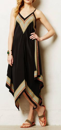 Anthropologie  Estrella Maxi Dress
