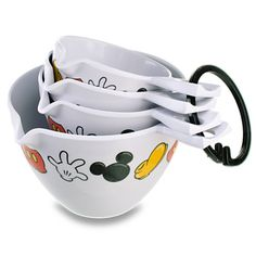 Best of Mickey Mouse Measuring Cup Set -- 4-Pc. | Kitchen Essentials | Disney Store