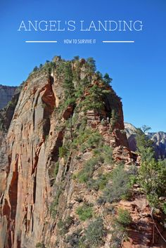 How to survive Angel's Landing hike in Zion National Park