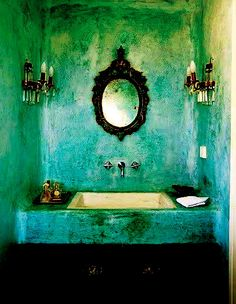 My bathroom....In my dreams. OMG I love this. So dark and evil.