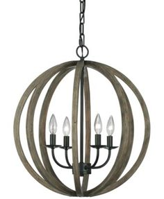 """Add the perfect punctuation to a kitchen or contemporary dining room with the impressive Allier pendant light from Feiss.   Dimensions: 20.5""""W x 20.5""""D x 23.13""""H   Weight: 11 lbs.   60-watt bulbs (not"""