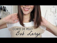 Corte de Pelo Bob Largo Tutorial! Cómo cortarse el cabello uno mismo - YouTube