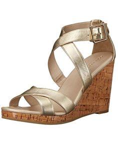 Cole Haan Jillian Wedge Sandals http://allthoseshoes.com/shop/cole-haan-jillian/ #colehaan #sandals #wedges #gold