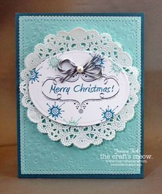 Blue Christmas by jessjean - Cards and Paper Crafts at Splitcoaststampers