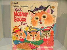 Richard Scarry's Best Mother Goose Ever // Vintage 1970s Childen's Book // Etsy //  LoveVintageAlways
