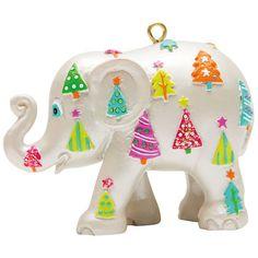 ELEPHANT PARADE - Ornament - Christmas Tree 5cm