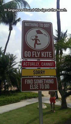 Find something else to do…
