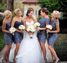 love these bridesmaid dresses