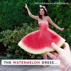 --Video Pin-- The is the summer photo trend everyone needs to try. Watch this video for inspiration for your own photo shoot. Watermelon Dress, Diy Fashion Hacks, Satisfying Video, Oddly Satisfying, Satisfying Things, Clothing Hacks, Summer Diy, Trends, Hot Dress