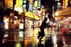 Toyko Rain.  Tokyo 2012.  By Jürgen Bürgin  http://www.juergenbuergin.com/